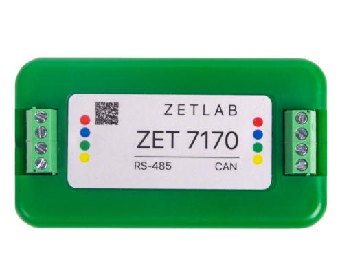 Преобразователь интерфейса RS-485 в CAN ZET 7170