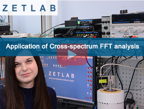 Application of Cross-spectrum FFT analysis preview