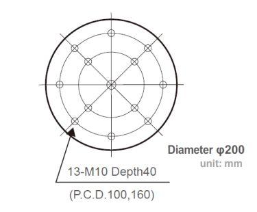 J230-diametr-stola-vibrostenda1